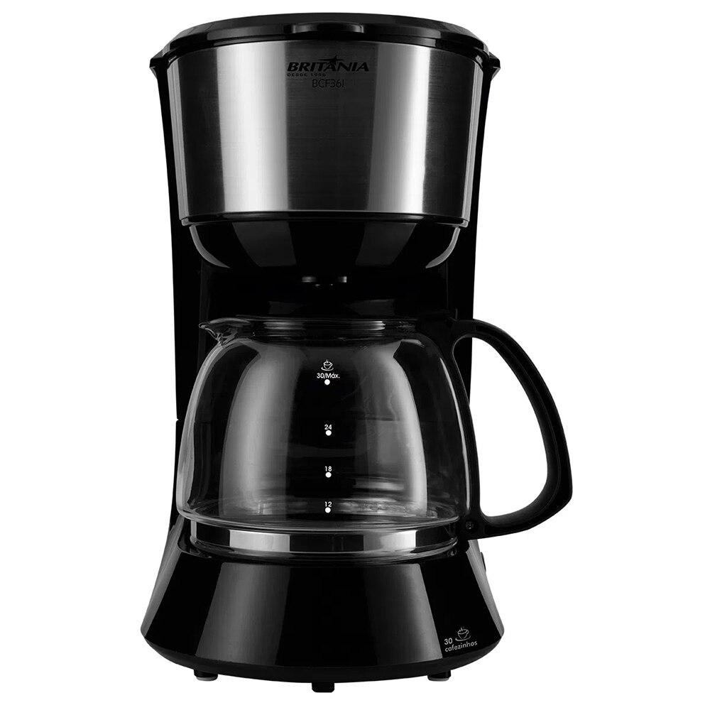 Cafeteira Elétrica Britania Preto 110v - Bcf36i